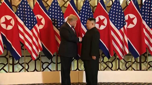 Sind Kim Jong-Un und Donald Trump nun keine Erzfeinde mehr?