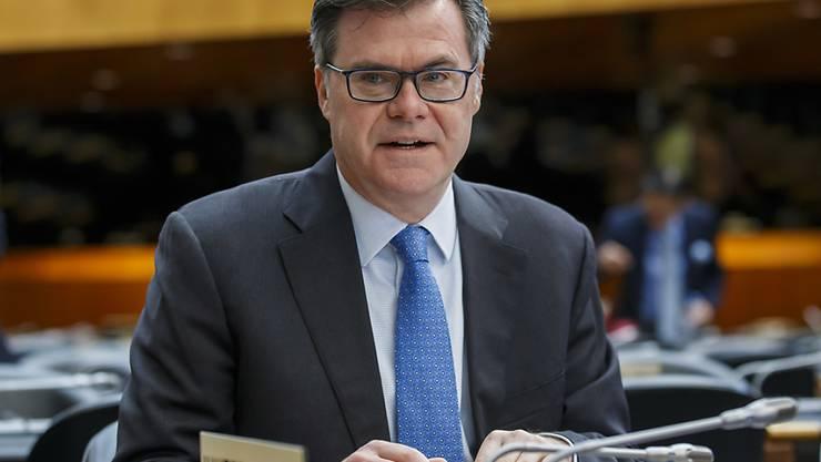 Dennis Shea, US-Botschafter bei der Welthandelsorganisation WTO in Genf. Die USA bleiben bei ihrer Blockade der WTO-Schlichtungsstelle.