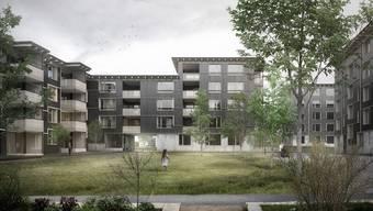 Die Überbauung Klosterbrühl soll mit 227 Neubauwohnungen ersetzt werden.