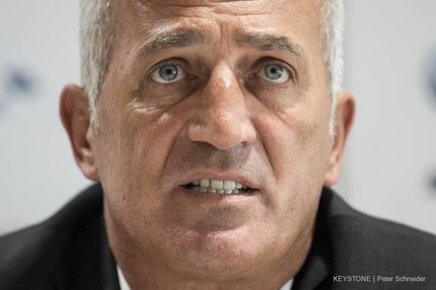 Bedauert die Causa Valon behrami: Vladimir Petkovic.