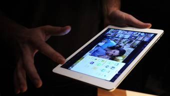 Auf dem Tablet waren schon einige Apps installiert. (Symbolbild)