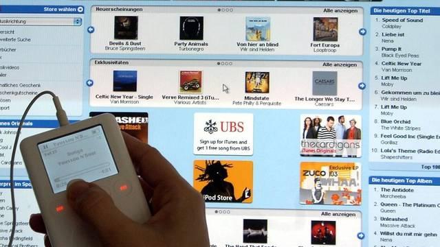 Nicht alle User bezahlen für heruntergeladene Musik (Archiv)