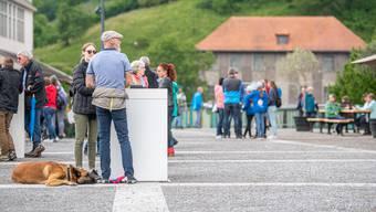 Eröffnungsfest Uferpark in Luterbach am Samstag