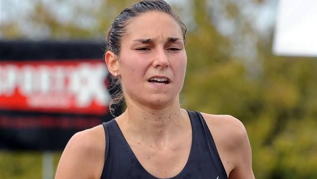 Renate Wyss, Marathonläuferin aus Rheinfelden.