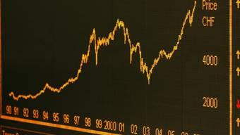 Die Börse honoriert den Eingriff der Notenbanken mit steigenden Kursen (Archiv)