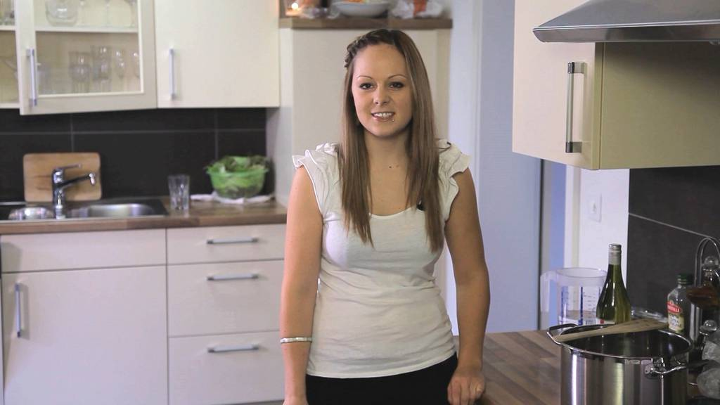 Heute kocht Sandra (25)
