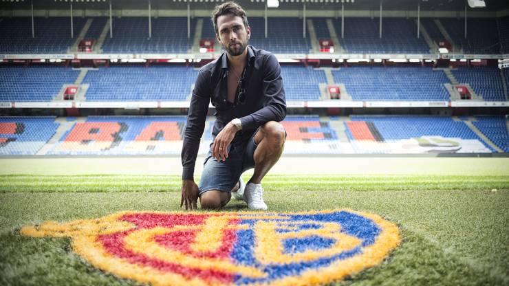 Basel 3.8.2017 - Matias Delgado vom FCB. Photo by Roland Schmid