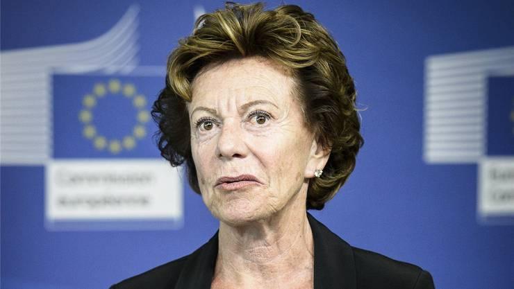 «Ein Versehen»: Ex-Wettbewerbskommissarin Neelie Kroes. Zuma Press/Imago