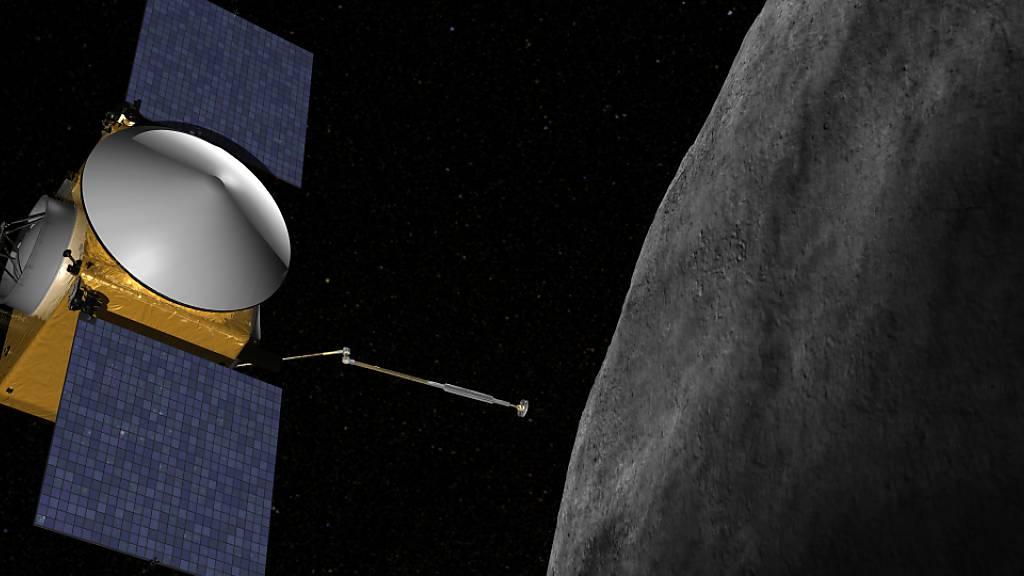 Nasa-Sonde «Osiris Rex» soll Probe vom Asteroiden Bennu nehmen