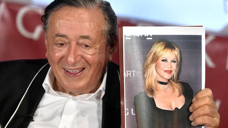 """Richard """"Mörtel"""" Lugner wird in diesem Jahr von US-Schauspielerin Melanie Griffith zum Wiener Opernball begleitet."""