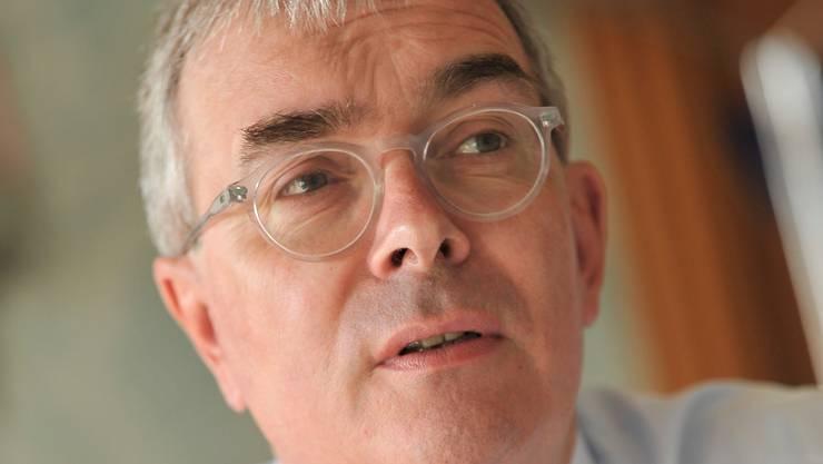 Wirtschafts- und Umweltdirektor Christoph Brutschin.MTO
