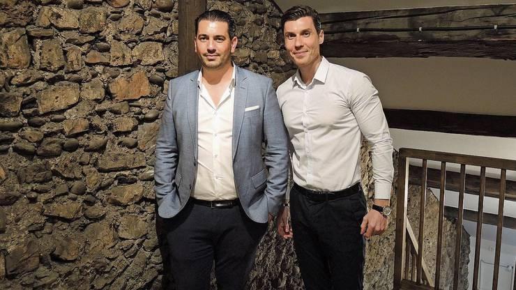 Die Brüder Toni (l.) und Marjan Lleshaj haben sich auf den Umbau von Altstadtliegenschaften spezialisiert.