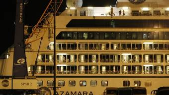 Das Kreuzfahrtschiff hat Malaysia sicher erreicht