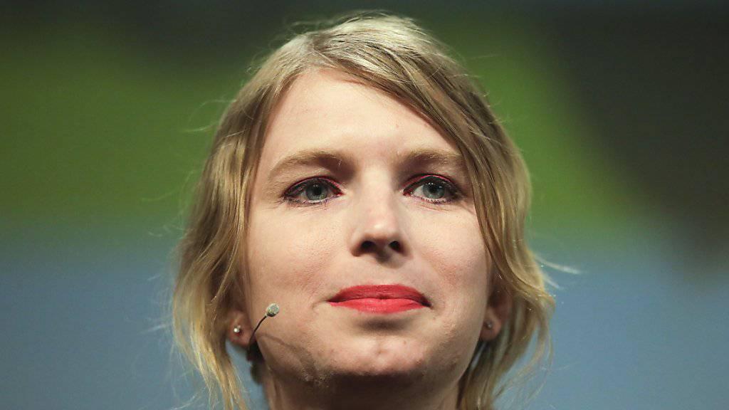 Chelsea Manning - die vor ihrer geschlechtsangleichenden Operation als Mann lebte und mit Vornamen Bradley hiess - hatte im Irak-Krieg als Computerexperte für die US-Streitkräfte gearbeitet und grosse Datenmengen geheimen Materials an Wikileaks weitergeleitet. (Archivbild)
