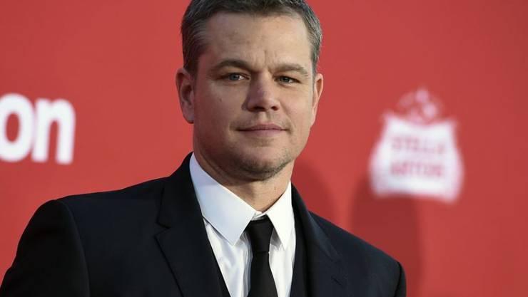 Matt Damon hat in der #MeToo-Debatte lange abgewiegelt und unter anderem Po-Tätschler verteidigt. Dafür hat er sich jetzt entschuldigt. (Archivbild)