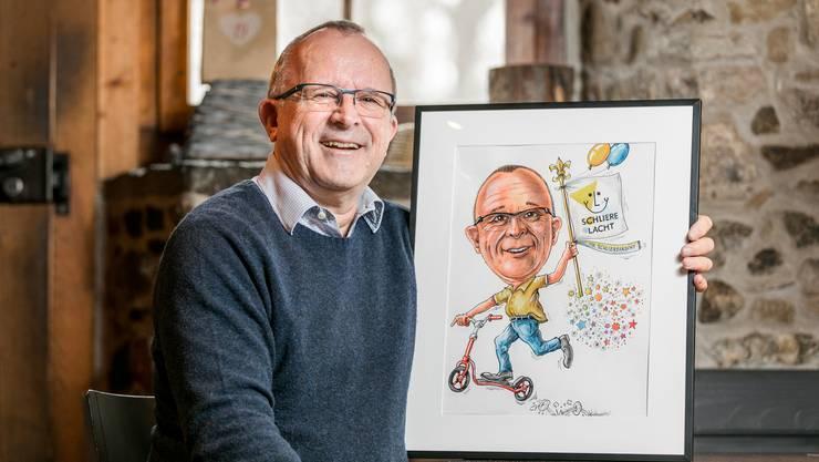 Rolf Wild, OK-Präsident des Schlierefäscht, holte 2019 am meisten Stimmen.