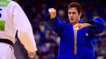 Judoka Ciril Grossniklaus und frischgebackener Co-Aargauer Sportler des Jahres konnte seinen ersten Podestplatz in diesem Jahr feiern.