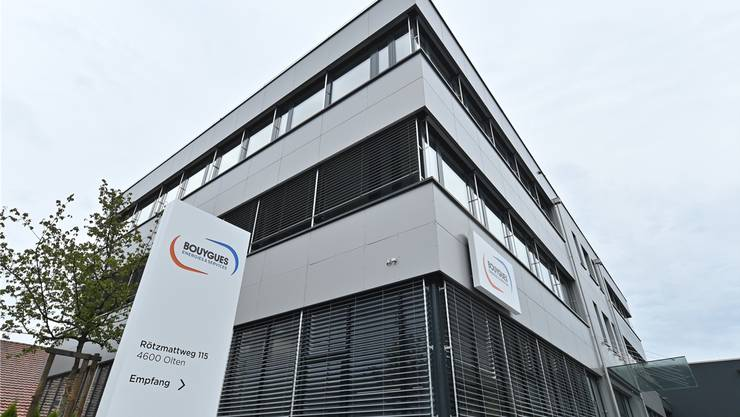 Vom Kader-Exodus betroffen: Der Oltner Sitz der Gebäudetechnikfirma Bouygues E&S InTec AG.