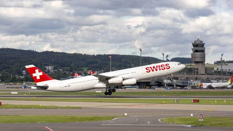 Ein Swiss-Flug nach Chicago kam heute nur bis kurz nach England und musste danach wieder umkehren.