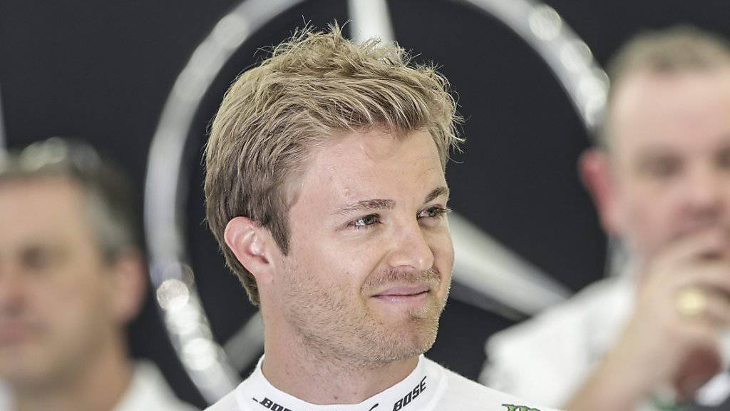 Nico Rosberg gewann auch das zweite Rennen der Saison