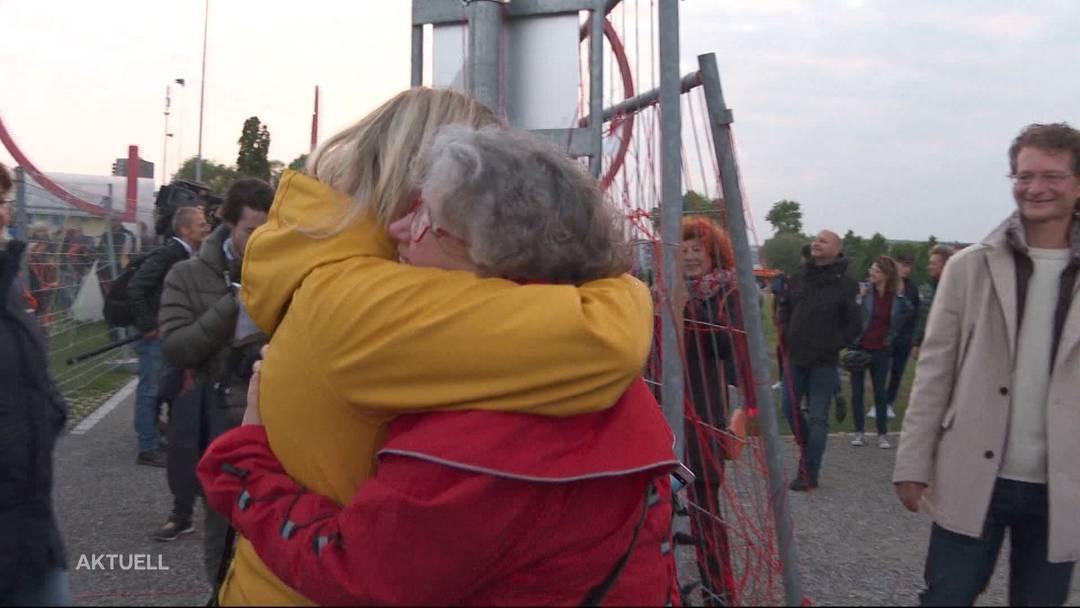 Der Beitrag von TeleM1: Grenzöffnung – so schön kann Wiedersehen sein