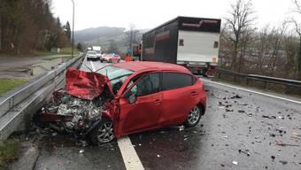 Der Autofahrer verstarb nach einer Kollision mit einem Lastwagen am Donnerstagmorgen in Malters.