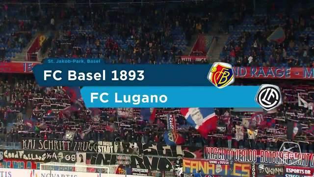 Super League, 2018/19, 13. Runde FC Basel - Lugano 3:2 Alle Highlights