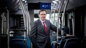 CEO Alex Naef: «Nachhaltigkeit ist uns wichtig».