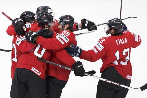 Schweiz verliert gegen Finnland im Penaltyschiessen