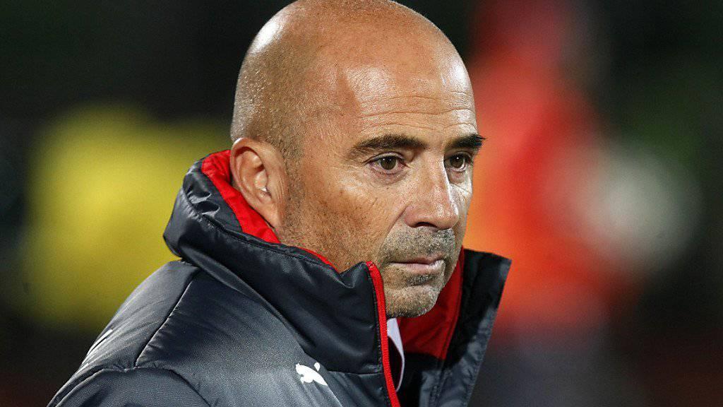Sevilla ist für den Argentinier Jorge Sampaoli die erste Trainerstation in Europa