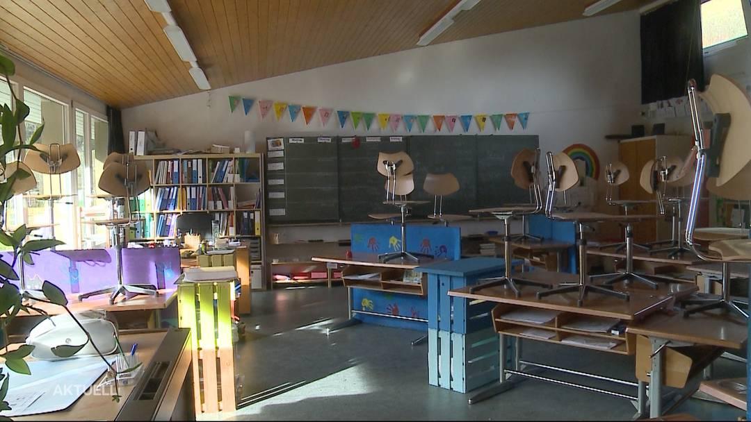 """Vier Solothurner Schulen bleiben wegen """"Sabine"""" geschlossen"""