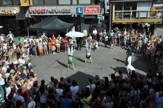 Flashmob Tänzer