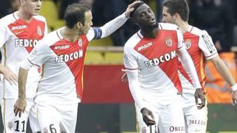 Monacos Tiemoue Bakayoko trifft zum 1:1 und hadert am Ende trotzdem