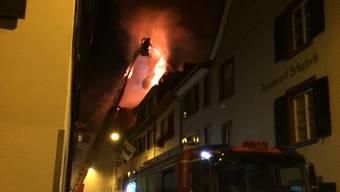 Brand in der Rheingasse