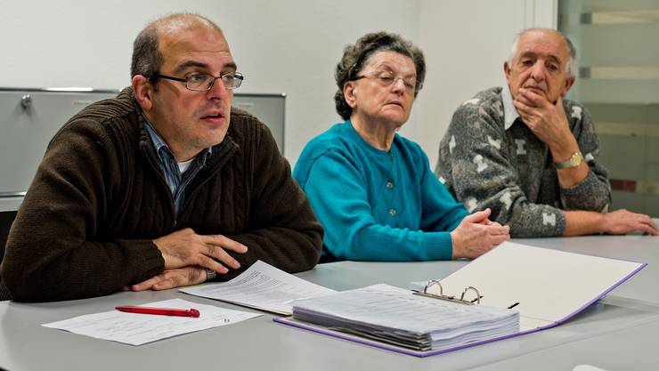 Marco Tommasini (links) zusammen mit Mutter Stefania und Vater Roberto.