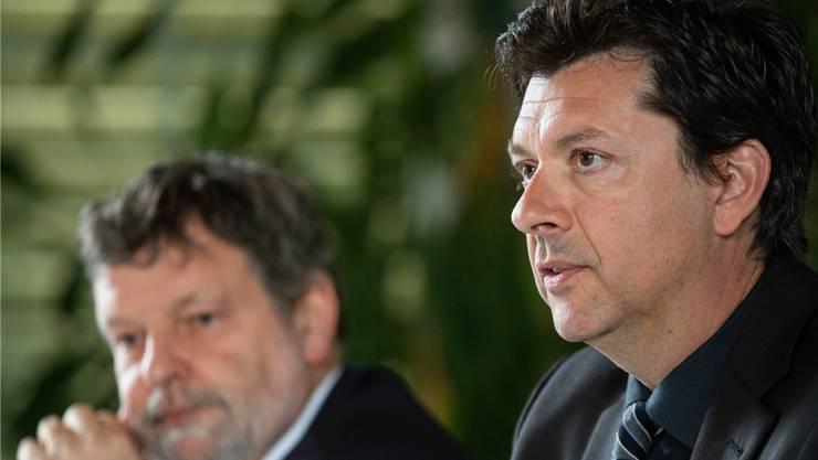 Urs Hammel, Chef Kantonales Personalamt: «Zu laufenden Verhandlungen in der Kommission äussere ich mich nicht.»