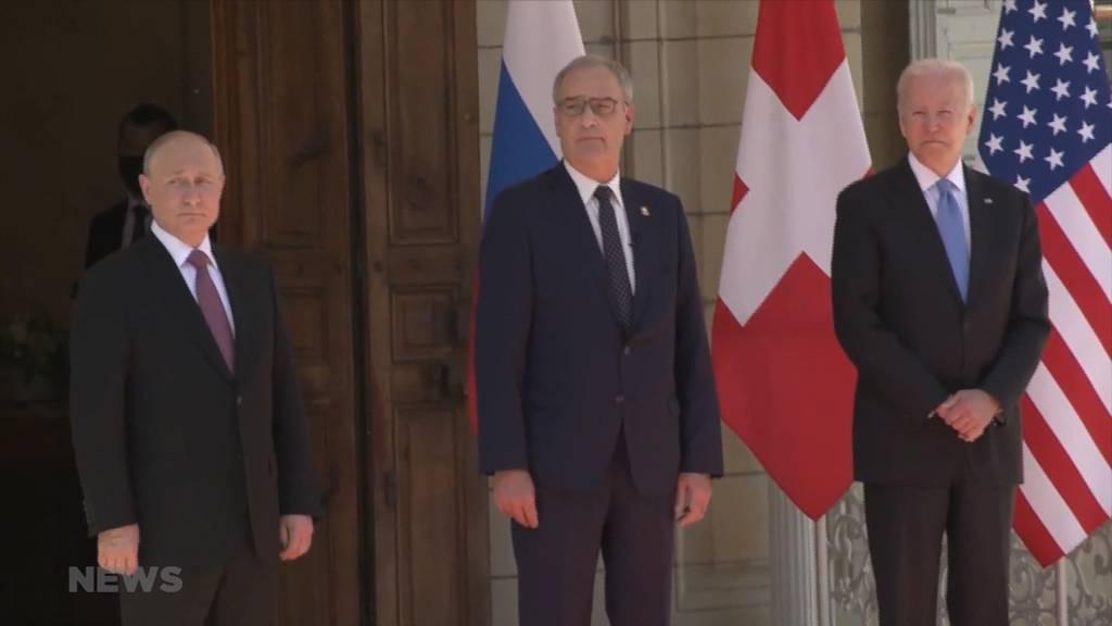 Zwischen Biden und Putin: Guy Parmelin erhält Bestnoten für den Auftritt in Genf