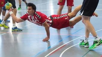Solothurns Martin Beer versenkte den Ball viermal im gegnerischen Tor.