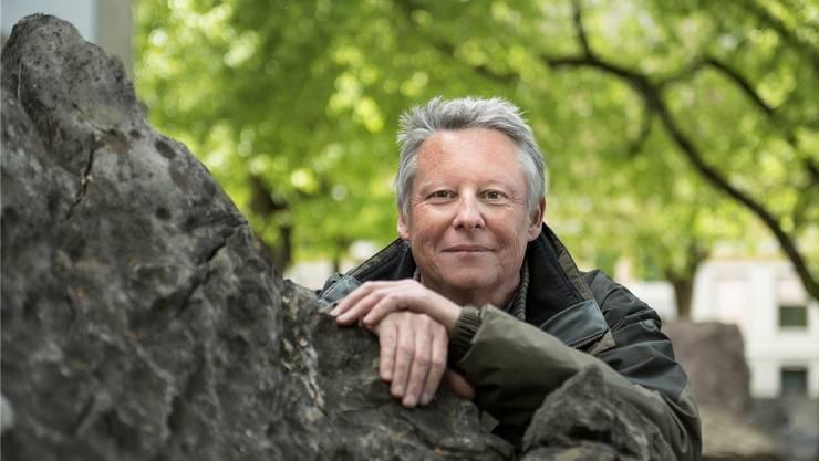 Wanderbuchautor Thomas Widmer erzählt über den «Mörderstein» und den «Glögglifels». ADRIANA ORTIZ CARDOZO
