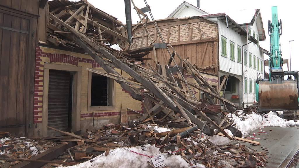 Gebäudeeinsturz: Staatsanwaltschaft ermittelt in Oberbüren