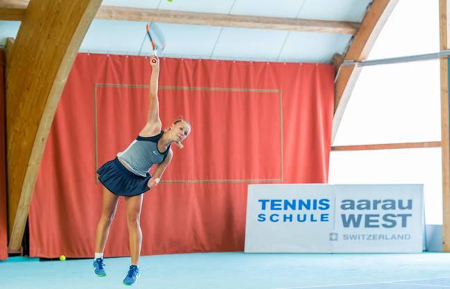 Joanne Züger aus Sissach gehört als Turniernummer eins bei den Juniorinnen zu den heissesten Titelkandidatinnen.