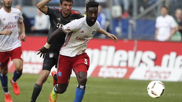 Stand zuletzt am 24. September bei der 0:1-Heimniederlage des HSV gegen Bayern München im Einsatz: Johan Djourou
