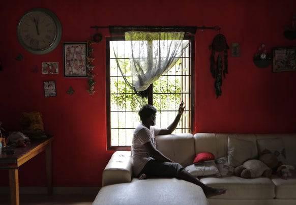 Drogensüchtige sehen sich in Sri Lanka gesellschaftlicher Stigmatisierung ausgesetzt: Dinesh hat nach eigenen Angaben die Heroinsucht hinter sich gelassen.