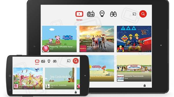 """""""YouTube Kids"""" neu auch in der Schweiz"""