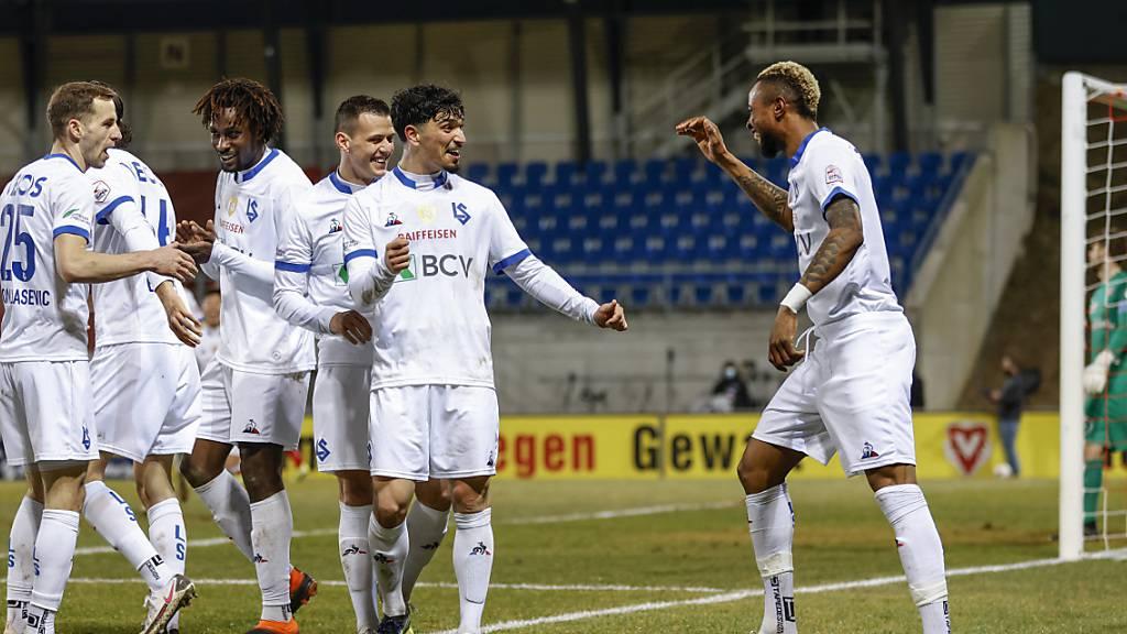 Lausanne gewinnt auch drittes Aufsteiger-Duell