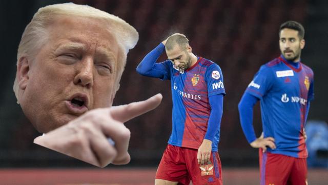 Da das FCB-Spiel am gleichen Tag stattfand wie die Hängepartie bei den US-Wahlen, lagen witzige Vergleiche auf der Hand.