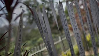Botschaften im Gedenkzentrum des Völkermorders in Kigali (Archiv)