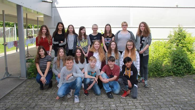 Das Redaktionsteam der Projektwoche am Oberstufenzentrum Derendingen Luterbach.
