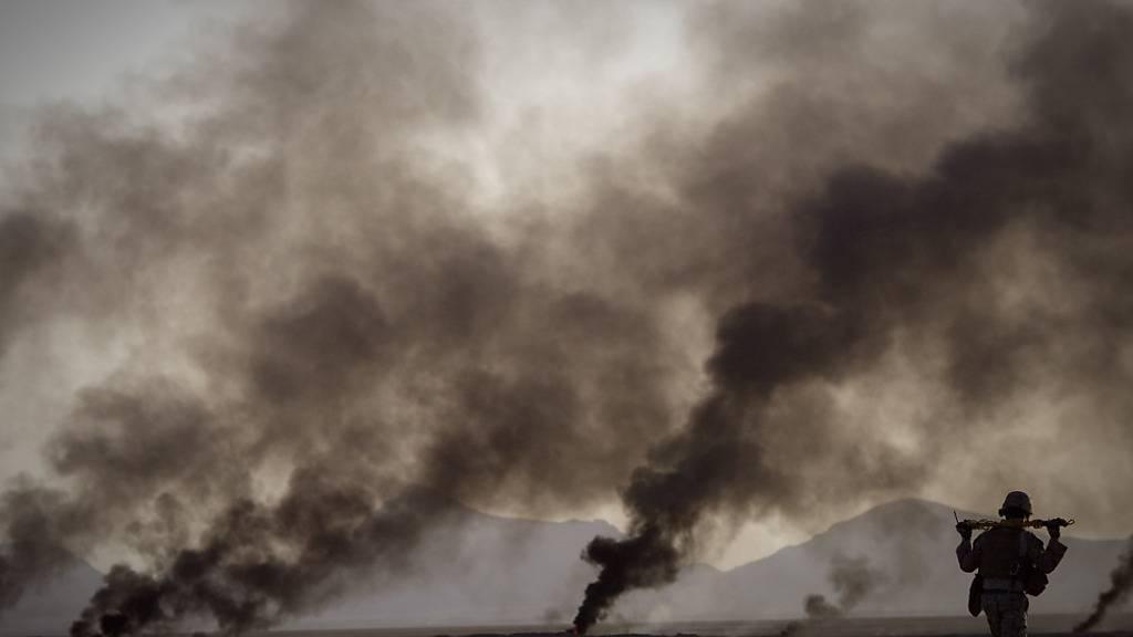 ARCHIV - US-Soldat in der umkämpften Provinz Helmand im Süden Afghanistans Foto: Anja Niedringhaus/AP/dpa