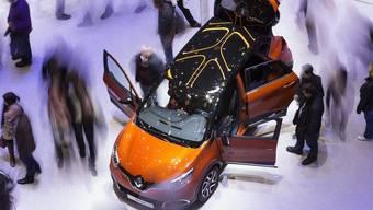 Kommen und Gehen am diesjährigen Autosalon in Genf